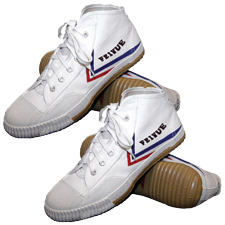 Set Of Feiyue Shoes High-top Style, White